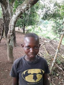 Choose a child to sponsor, like this little boy from Jong, Brima age 8