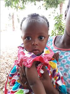 Choose a child to sponsor, like this little girl from Imperi, Tarawally age under 1