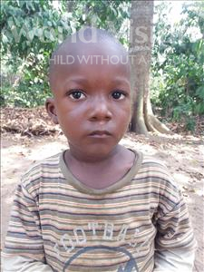 Choose a child to sponsor, like this little boy from Imperi, Duraman age 3