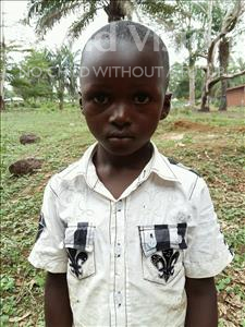 Choose a child to sponsor, like this little boy from Imperi, Dauda Abubakarr age 5