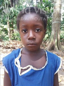 Choose a child to sponsor, like this little girl from Imperi, Tenneh age 7