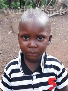 Choose a child to sponsor, like this little boy from Imperi, Joseph age 2