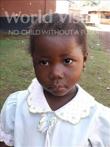Choose a child to sponsor, like this little girl from Imperi, Esther age 3