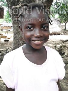 Choose a child to sponsor, like this little girl from Imperi, Musukula age 6