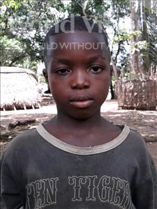 Choose a child to sponsor, like this little boy from Imperi, Albert age 6