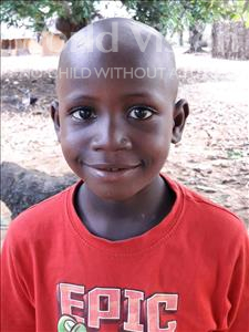 Choose a child to sponsor, like this little boy from Imperi, Festus age 6