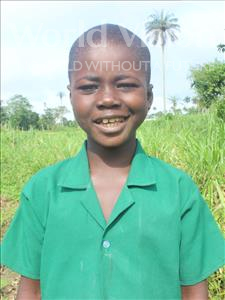 Choose a child to sponsor, like this little boy from Tegloma, Abdul age 9
