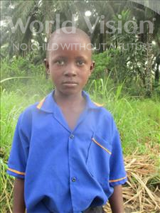 Choose a child to sponsor, like this little boy from Tegloma, Mamienuha age 10