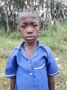Choose a child to sponsor, like this little boy from Tegloma, Sheriff age 8