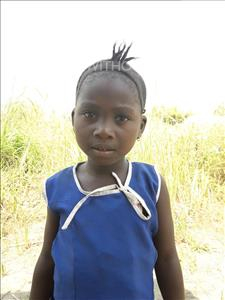 Choose a child to sponsor, like this little girl from Tegloma, Aminata age 6
