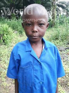Choose a child to sponsor, like this little boy from Tegloma, Henry age 7