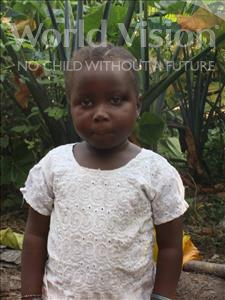 Choose a child to sponsor, like this little girl from Tegloma, Memuna age 6