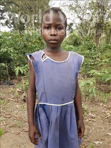 Choose a child to sponsor, like this little girl from Tegloma, Titty age 8