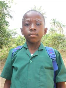 Choose a child to sponsor, like this little boy from Tegloma, Francis age 10