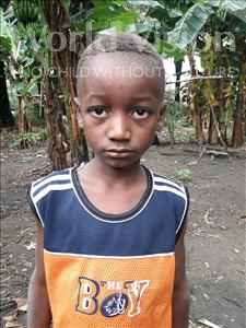 Choose a child to sponsor, like this little boy from Tegloma, Moisa age 7