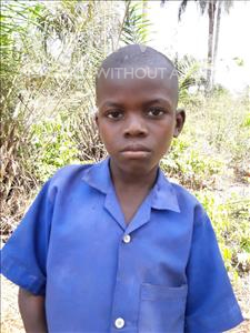 Choose a child to sponsor, like this little boy from Tegloma, Ansumana age 10