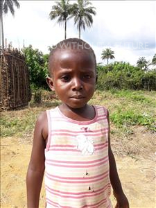 Choose a child to sponsor, like this little boy from Tegloma, Abdulai age 6