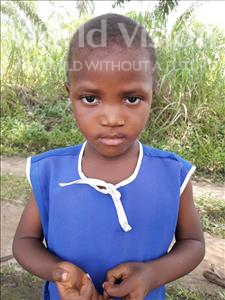 Choose a child to sponsor, like this little girl from Tegloma, Adama age 5