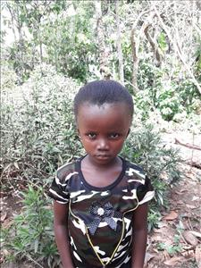 Choose a child to sponsor, like this little girl from Tegloma, Adama age 7