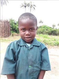 Abdulai, aged 4, from Sierra Leone, is hoping for a World Vision sponsor