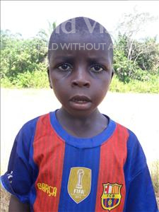 Choose a child to sponsor, like this little boy from Tegloma, Smart age 6