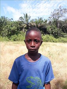 Choose a child to sponsor, like this little boy from Tegloma, Ansumana age 5