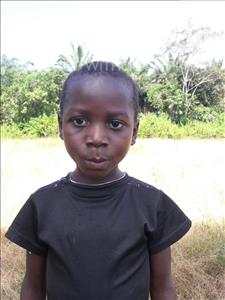 Choose a child to sponsor, like this little boy from Tegloma, Peter age 7