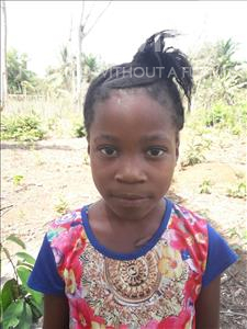Choose a child to sponsor, like this little girl from Tegloma, Mary age 6