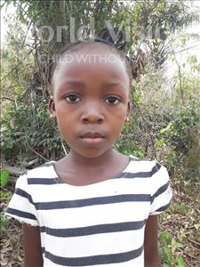 Choose a child to sponsor, like this little girl from Tegloma, Mamie age 8