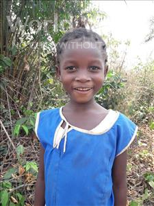 Choose a child to sponsor, like this little girl from Tegloma, Seibatu age 5