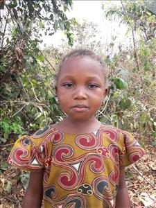 Choose a child to sponsor, like this little girl from Tegloma, Granny age 3