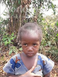 Choose a child to sponsor, like this little girl from Tegloma, Sallay age 2