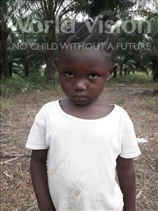 Choose a child to sponsor, like this little girl from Tegloma, Martha age 3