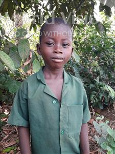 Choose a child to sponsor, like this little boy from Tegloma, Jonathan age 7