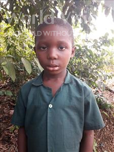 Patrick, aged 6, from Sierra Leone, is hoping for a World Vision sponsor