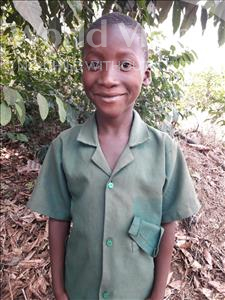 Choose a child to sponsor, like this little boy from Tegloma, Alie age 7