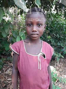 Choose a child to sponsor, like this little girl from Tegloma, Margaret age 7