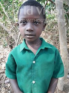 Choose a child to sponsor, like this little boy from Tegloma, Muctaru age 4