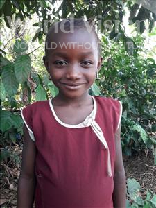 Choose a child to sponsor, like this little girl from Tegloma, Lucy age 7