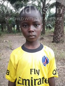 Choose a child to sponsor, like this little boy from Tegloma, Alusine age 7