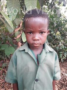 Choose a child to sponsor, like this little boy from Tegloma, Jusu age 6