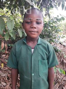 Choose a child to sponsor, like this little boy from Tegloma, Koroma age 5