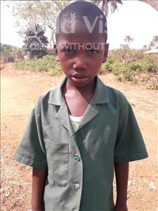 Choose a child to sponsor, like this little boy from Tegloma, John Bull age 7