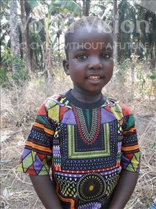 Choose a child to sponsor, like this little boy from Tegloma, Sheriff age 3