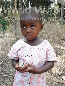Choose a child to sponsor, like this little girl from Tegloma, Katumu age 2