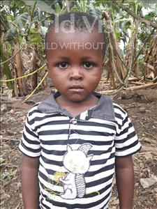 Choose a child to sponsor, like this little boy from Tegloma, Alpha age 2