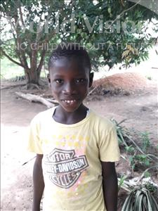 Choose a child to sponsor, like this little boy from Jaiama Bongor, Abdul K age 13