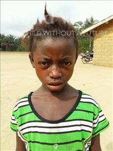 Choose a child to sponsor, like this little girl from Jaiama Bongor, Mamie age 7