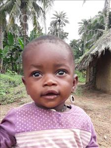 Choose a child to sponsor, like this little boy from Jaiama Bongor, Lahai age 1