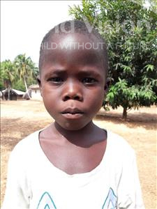 Tommy, aged 8, from Sierra Leone, is hoping for a World Vision sponsor